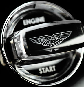 Aston Martin Car Key